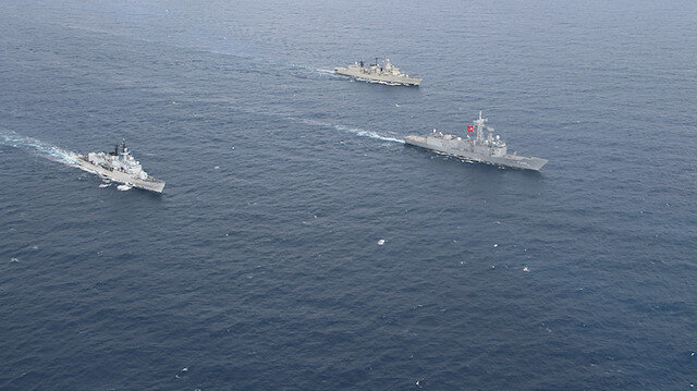 Fransa Doğu Akdeniz'deki SeaGuardian Operasyonundan çekildiğini NATO'ya bildirdi