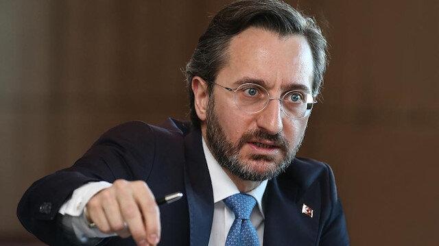 İletişim Başkanı Altun'dan 'sosyal medya' açıklaması
