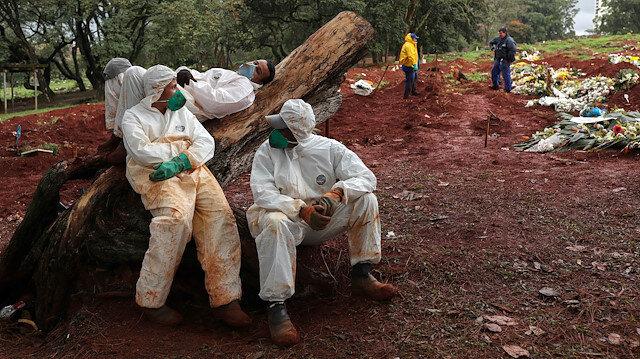 Kabus devam ediyor: Brezilya, Meksika ve Hindistan'da hayatını kaybedenlerin sayısı artmaya devam ediyor