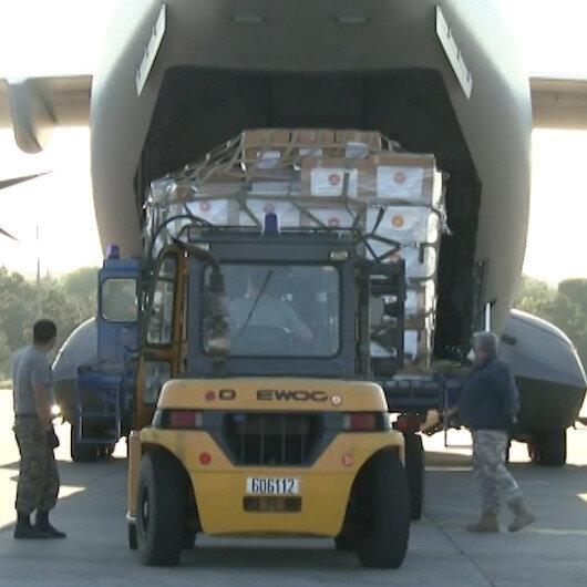 Türkiye'den Irak'a yardım eli: Tıbbi yardım malzemeleri gönderildi