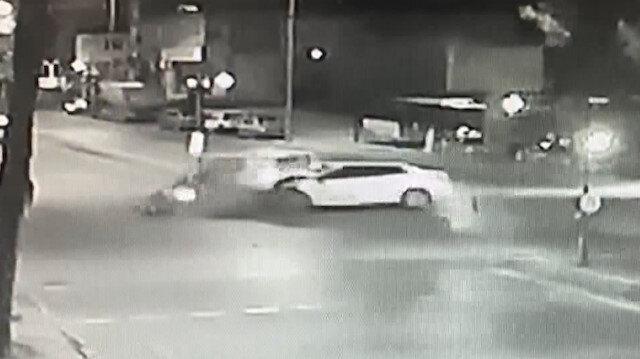 Polisten kaçarken taksiye çarpıp üç kişiyi yaraladılar