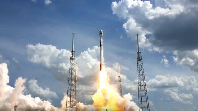 SpaceX, ABD ordusuna ait GPS uydusunu uzaya böyle gönderdi