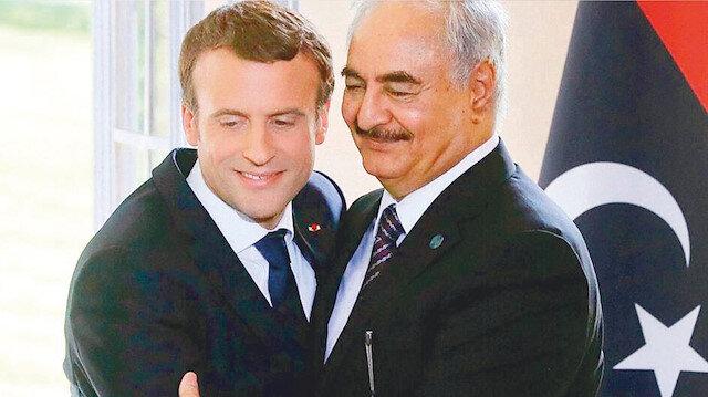 Hafter'e destek vermemiş: Macron tüm delillere rağmen inkar etti