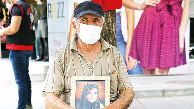 HDP'ye dava açıyor: Evlat nöbeti tutan baba HDP'ye 2 milyon liralık tazminat davası açacak