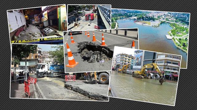 Çöken yollar, patlayan borular: İstanbul'da ihmal kaynaklı kazaların sonu gelmiyor