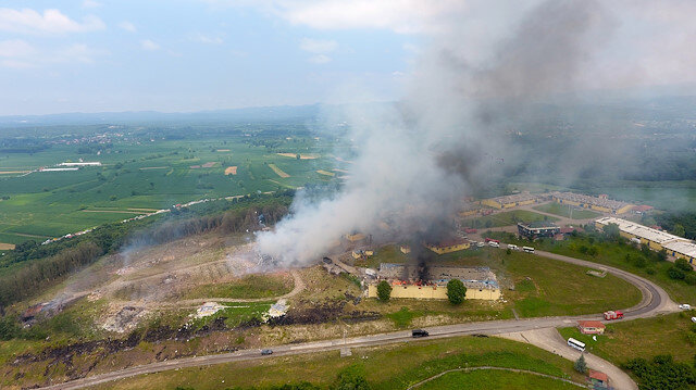 Sakarya'da havai fişek fabrikasında patlama: Dört ölü, 97 yaralı