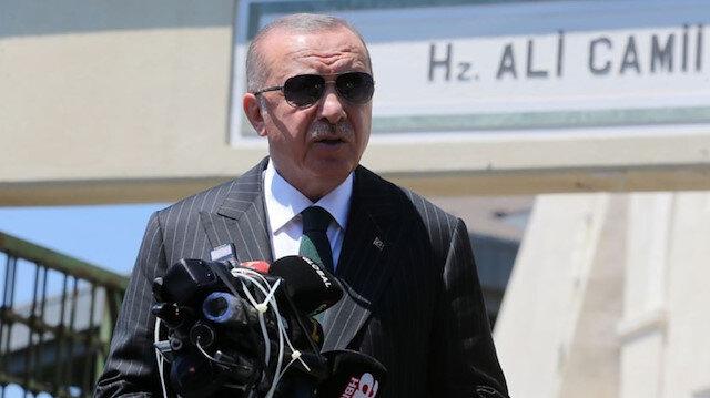 Cumhurbaşkanı Erdoğan: 2 kişi vefat etti 74 yaralımız var
