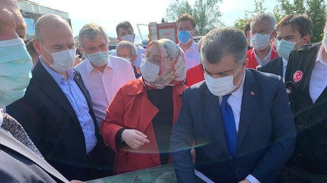 Bakanlar, Sakarya Hendek'teki havai fişek patlamasına ilişkin açıklama yaptı
