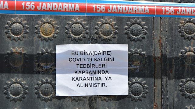 Şanlıurfa'da koronavirüs alarmı: 93 ev karantinaya alındı