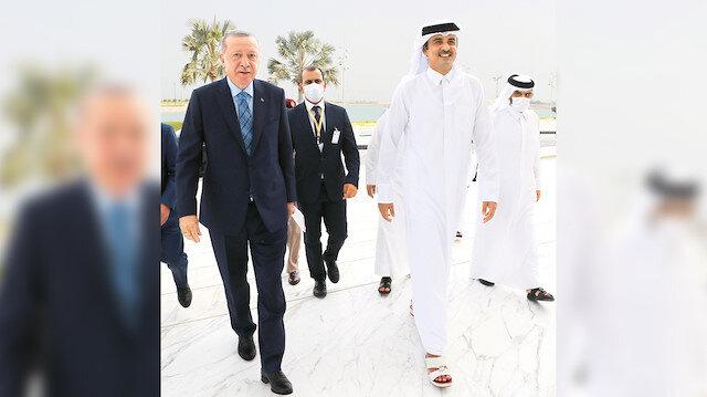 İlk ziyaret Katar'a: Erdoğan dört ay aradan sonra ilk yurt dışı ziyaretini gerçekleştirdi