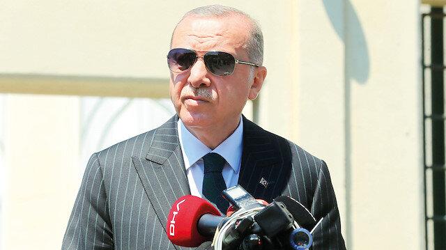 Ayasofya bizim hakkımız: Cumhurbaşkanı Erdoğan Ayasofya hakkında net mesaj verdi