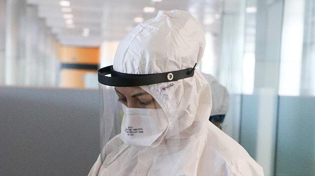 Havalimanında görüntülendi:  Ateşi yüksek çıkana 3 saatte koronavirüs testi yapıyorlar