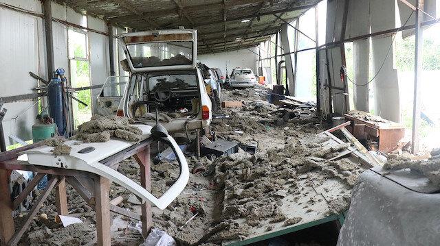 Sakarya'daki patlamada depo sahiplerinin hayatlarını bir bardak su kurtardı