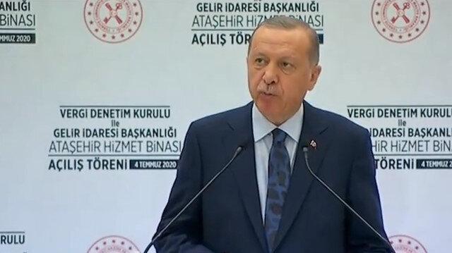 Cumhurbaşkanı Erdoğan: Türkiye'nin ekonomideki şahlanışını durduramayacaklar