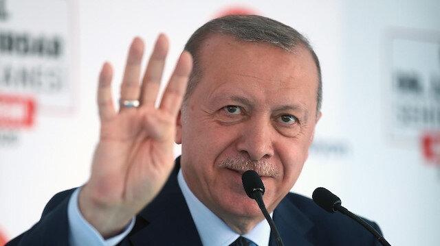 Cumhurbaşkanı Erdoğan:  Ne kadar uğraşırlarsa uğraşsınlar Türkiye'nin şahlanışını durduramayacaklar