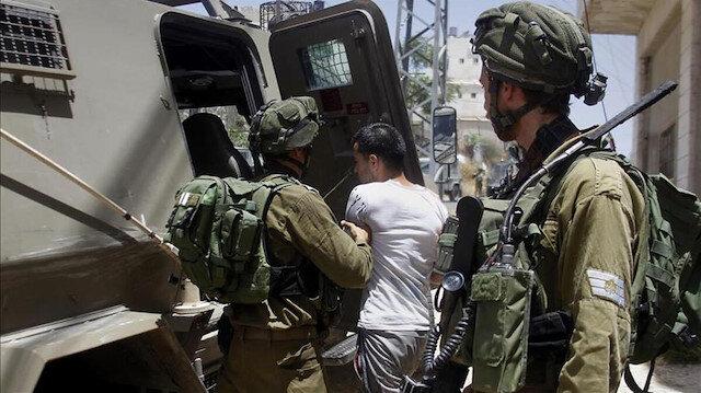 İşgalci İsrail'in yasa dışı ilhak planlarını protesto eden 16 yaşındaki Filistinli gözaltına alındı