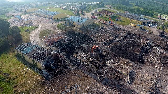 Sakarya'daki havai fişek fabrikasındaki patlamayla ilgili soruşturma başlatıldı