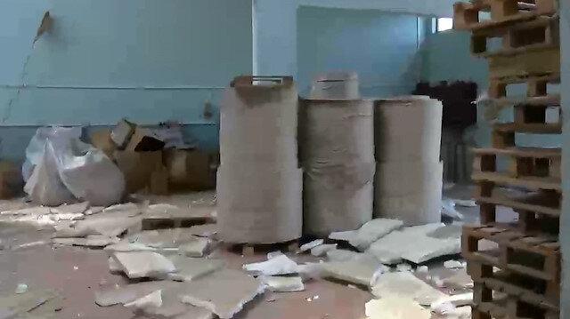 Havai fişek patlamasının yaşandığı fabrika içerisinden yeni görüntüler