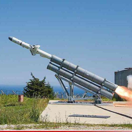 ATMACA 220 km mesafedeki hedefi başarıyla vurdu