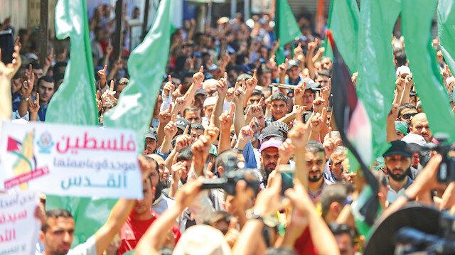 Yeni intifada geliyor: Filistin ilhaka karşı tek yürek