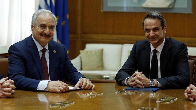 Yunanistan çaresizlere oynuyor: Hafter ile MEB için anlaştı