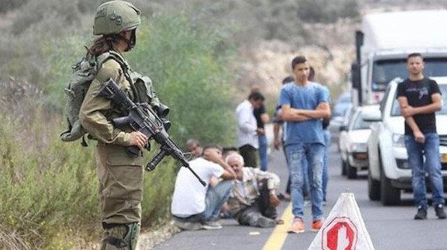 İşgalci Yahudiler Filistinlilere ateş açtı: 2 Filistinli yaralandı