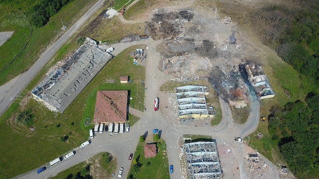 Sakarya'da havai fişek fabrikasındaki patlamada saldırı ve sabotaj izine rastlanmadı