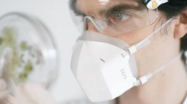Ultraviyole ışınlarla havadaki partikülleri temizleyen maske: UVMask