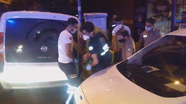 Evde kavga eden arkadaşlar dövdükleri arkadaşını balkondan aşağı attı