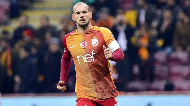 Galatasaray'ın eski yıldızı Wesley Sneijder'den kariyer itirafı