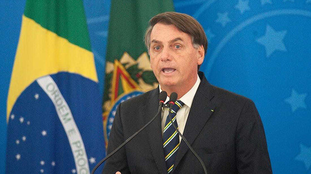 Brezilya Devlet Başkanı Bolsonaro koronavirüse yakalandı
