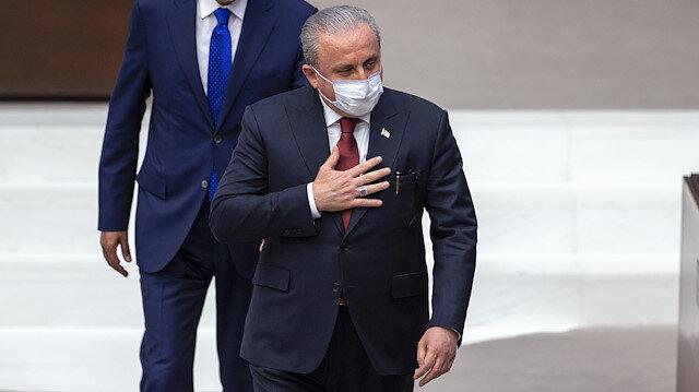 TBMM başkanlığına yeniden Mustafa Şentop şeçildi