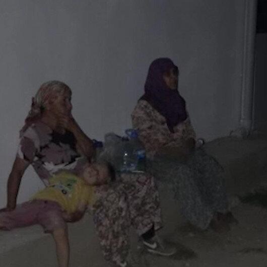 Çanakkale Kumköylüler evleri için sabaha kadar nöbet tuttu