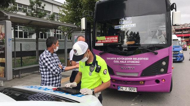 Toplu taşıma araçlarında maske takmayanlar hakkında tutanak tutuldu: Kaymakamlıklar tarafından kişilere ceza yazılacağı öğrenildi
