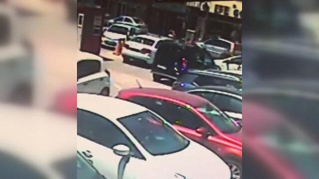 Aracın içindeki para dolu çantayı çalan iki hırsız kadın kılığında yakalandı