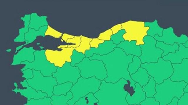 Meteoroloji'den İstanbul ve 8 il için sarı kodlu uyarı: Dışarı çıkacaklar şiddetli yağışa dikkat