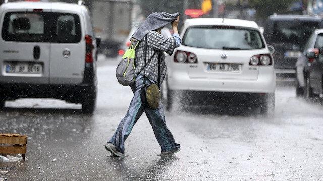 Meteoroloji son hava durumu tahminlerini açıkladı: 45 ile yağış uyarısı yapıldı
