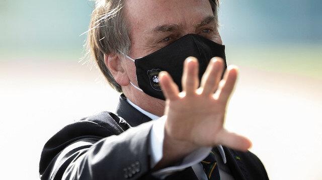 Koronavirüse yalananan Brezilya Devlet Başkanı Bolsonaro, DSÖ'ye rağmen sıtma ilacı kullanıyor