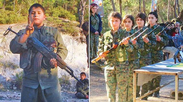 PKK Suriye'de yine çocuk kaçırdı: PKK Suriye'de bir haftada ikisi kız olmak üzere dört çocuğu daha kaçırdı