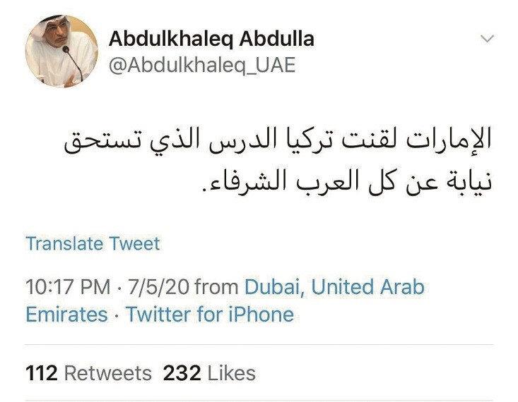 Abdulhalık el-Abdullah'ın paylaşımı
