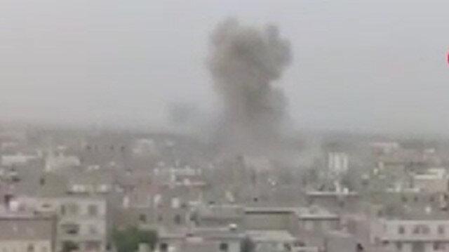 Yemen'de yerleşim yerine balistik füze saldırısı