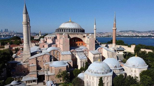 Dünya mimarlık tarihine damga vuran Ayasofya: 916 yıl kilise, 477 yıl cami olarak kaldı