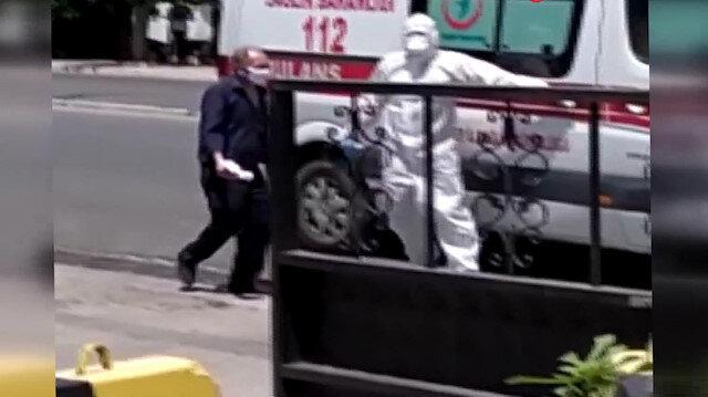 Hastaneden kaçan koronavirüs hastası yaşlı adam ekipleri harekete geçirdi