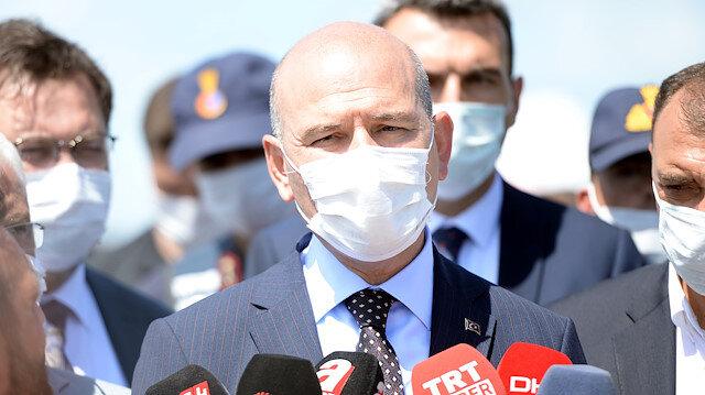 İçişleri Bakanı Soylu: 11 Jandarma personeli ile kamyon şoförü yaralı