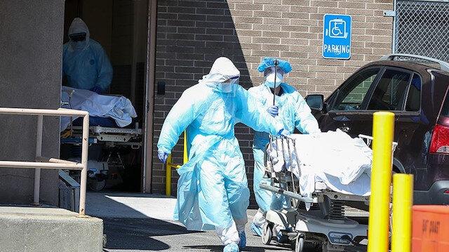ABD'de koronavirüs nedeniyle 906 kişi daha öldü