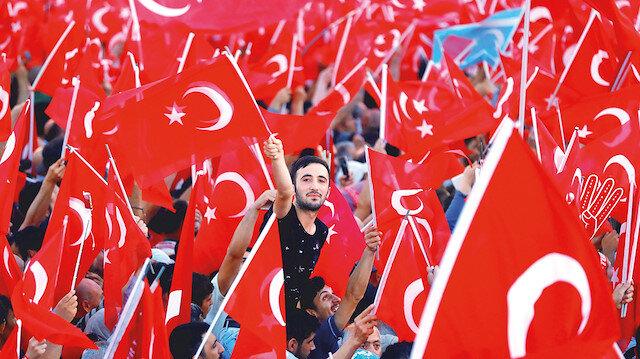 15 Temmuz'a üç bin etkinlik: Cumhurbaşkanı Erdoğan akşam saatlerinde 'Millete Sesleniş' konuşması yapacak