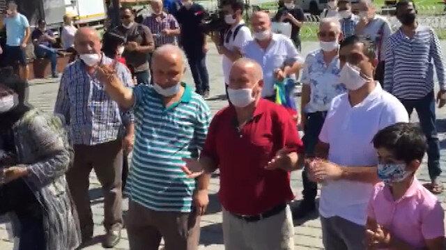Vatandaş Danıştay kararı sonrası Ayasofya etrafında kalabalık oluşturdu