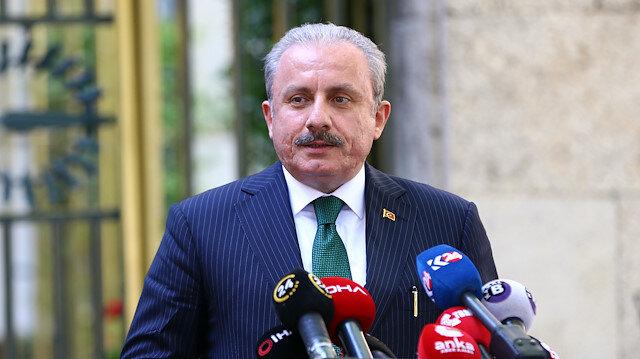 TBMM Başkanı Şentop'tan Ayasofya Camii açıklaması: Muhtemelen önümüzdeki hafta içerisinde ibadete açılır