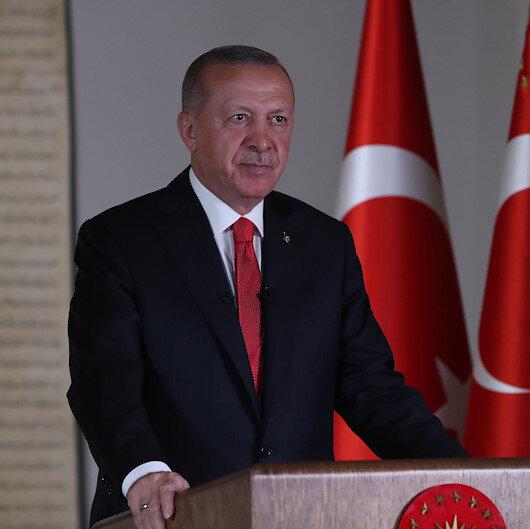 Cumhurbaşkanı Erdoğan, Fatihin vasiyetini hatırlattı: Alınan karar bu ağır bedduadan kurtulmamızı sağlamıştır