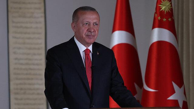 Cumhurbaşkanı Erdoğan, Fatih'in vasiyetini hatırlattı: Alınan karar bu ağır bedduadan kurtulmamızı sağlamıştır
